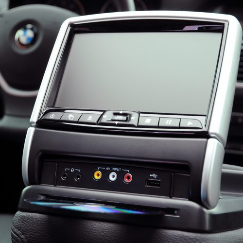 BMW Center Console Entertainment System