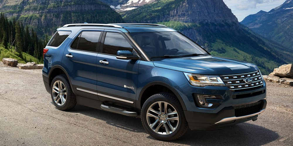 The BraunAbility MXV Ford Explorer