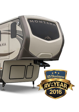 Keystone Montana 2016 RV Of The Year
