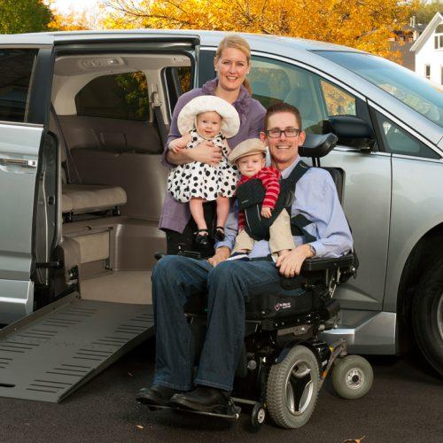 BraunAbility Honda Odyssey Interior