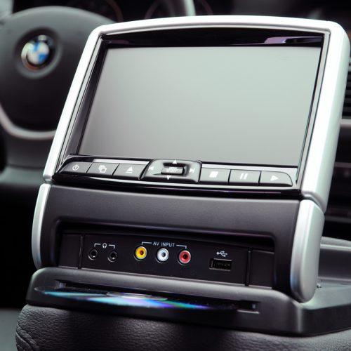 BMW Center Console Entertainment System