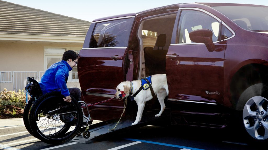 Braunability 2017 Chrysler Pacifica Ramp Design by Tangent
