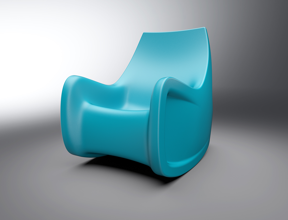 Cortech Radial Rocking Chair