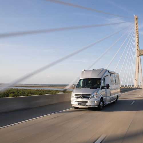 Airstream Atlas Touring Coach with Exterior fiberglass designed by Tangent Design Group, Inc.