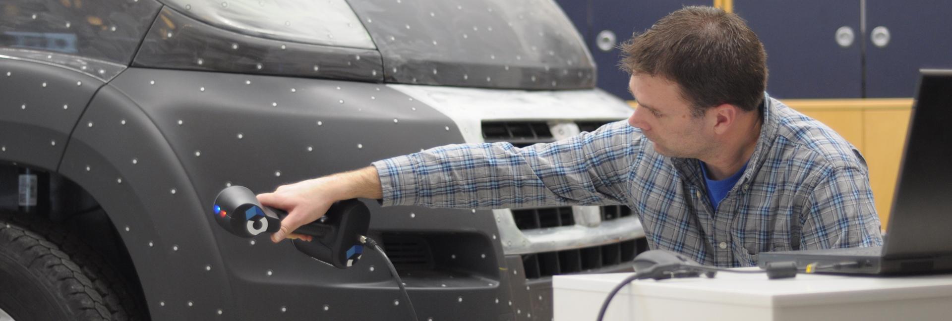 Tangent Design Group, Inc. 3D Scanning An Automotive Exterior