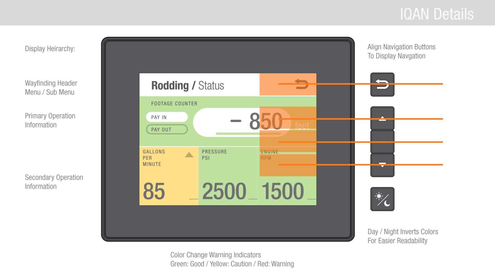 vactor control panel guidelines ui design 4