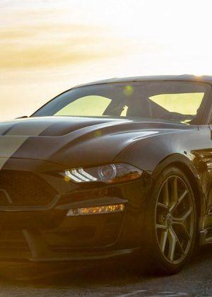 2019 Ford Mustang Shelby GT-H Fastback Black Front Left Quarter