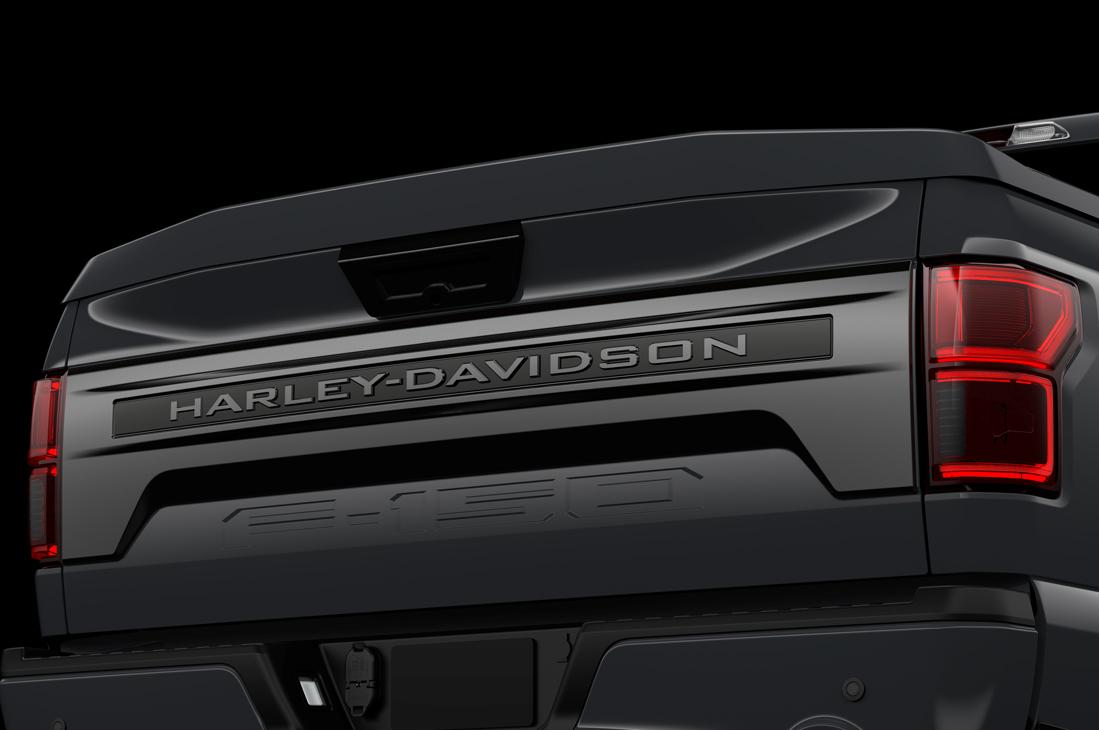 Harley Davidson Ford F150 Tailgate Detail