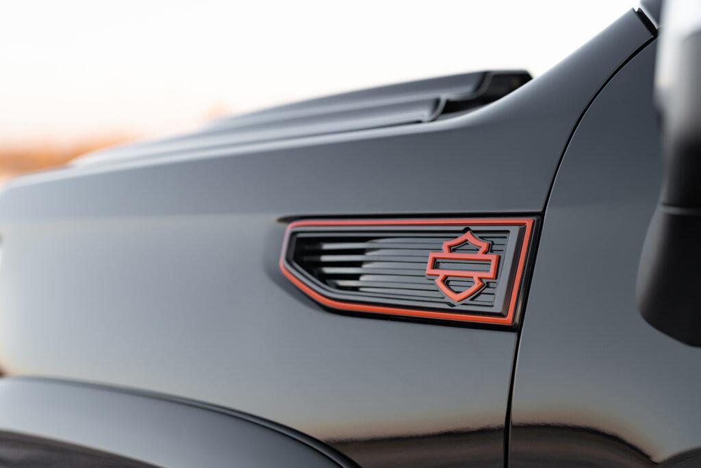 Harley Davidson GMC - Badge Detail