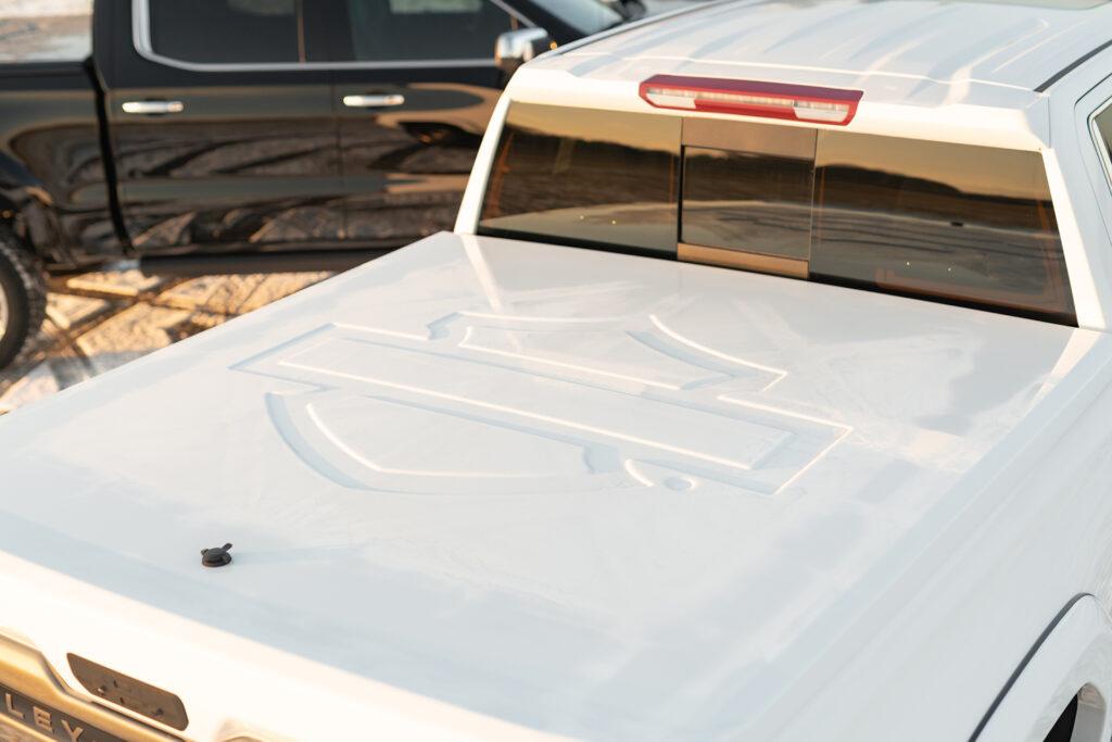 Harley Davidson GMC - Tonneau Cover Detail