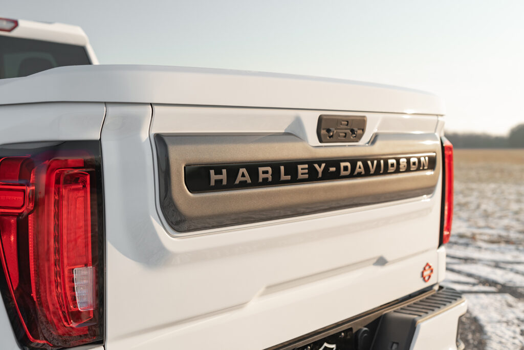 Harley Davidson GMC - Trunk Detail