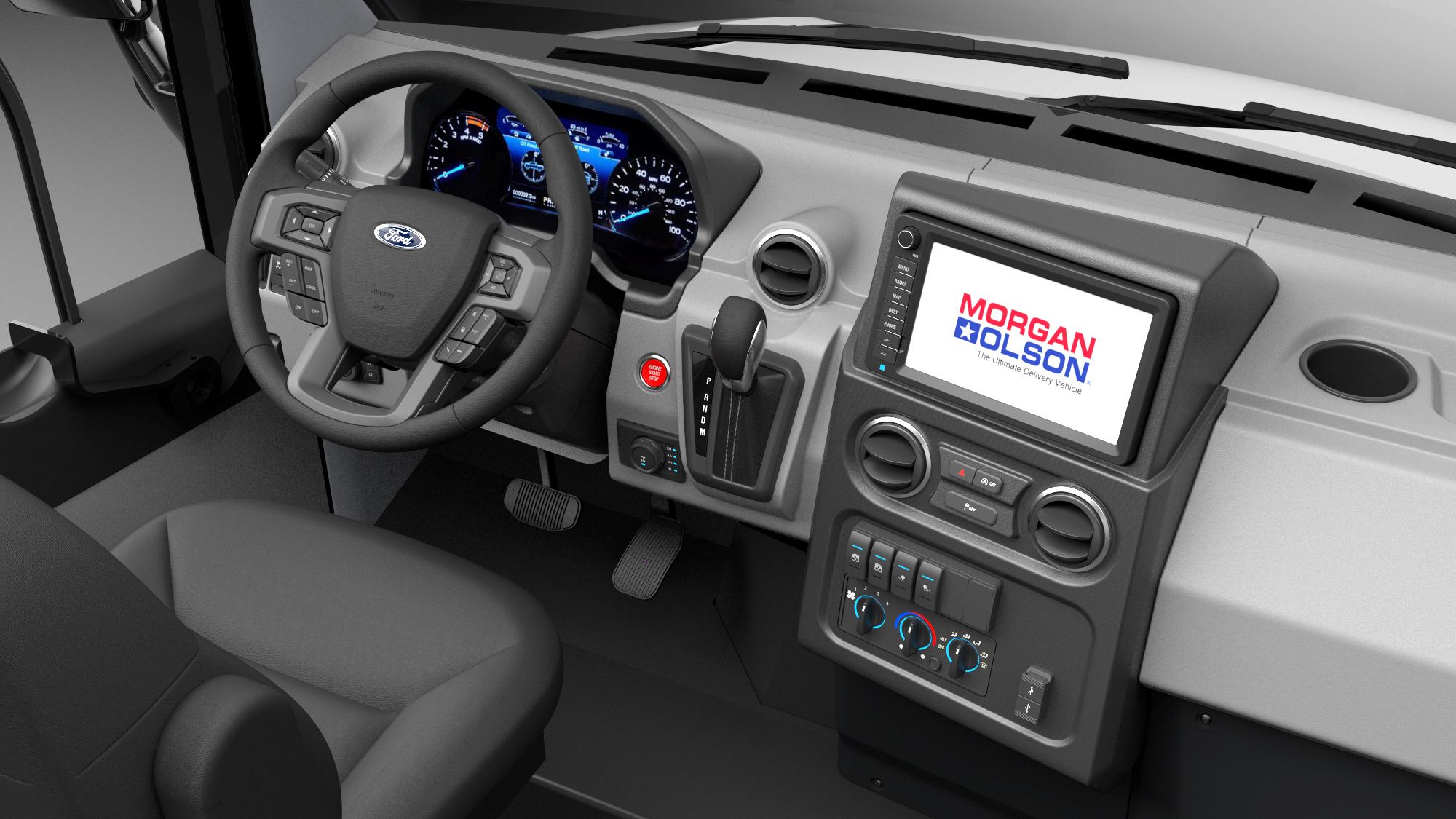 Morgan Olson Storm Interior