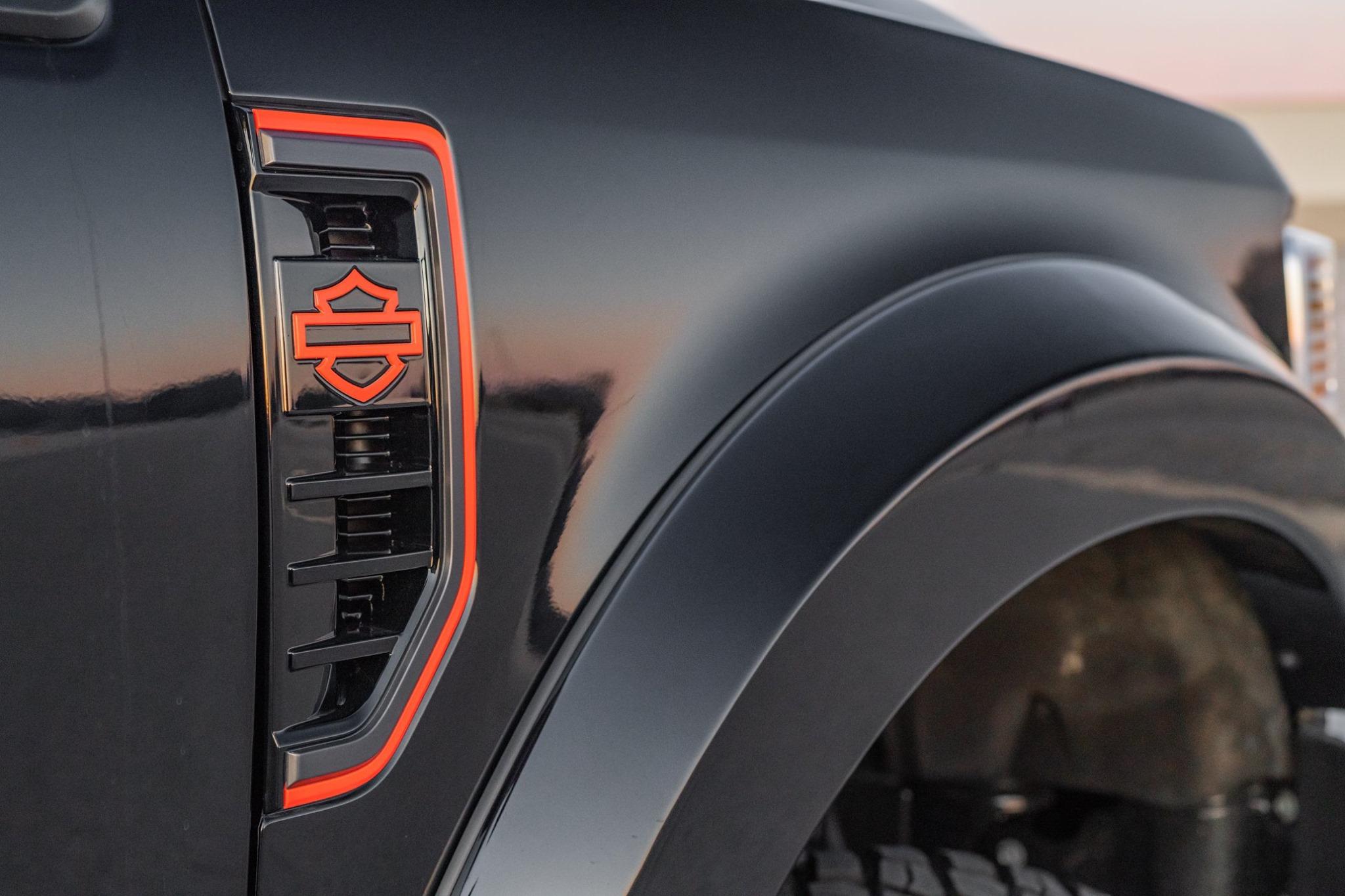 Harley Davidson Ford F250 Fender Vent