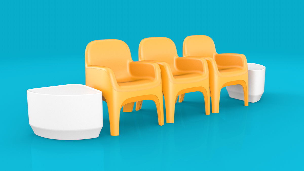 Cortech Crew Chairs With End Tables