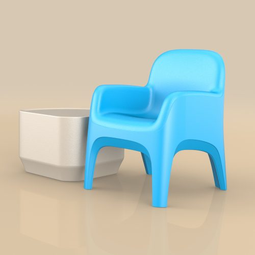 Cortech Crew Chair Button